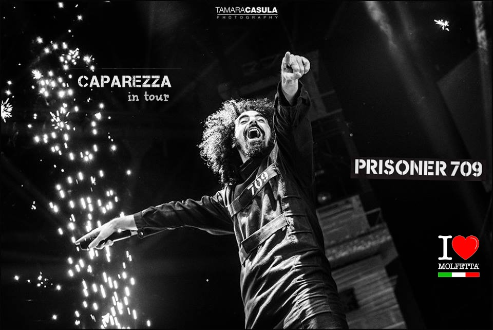 Caparezza in tour Prisoner709