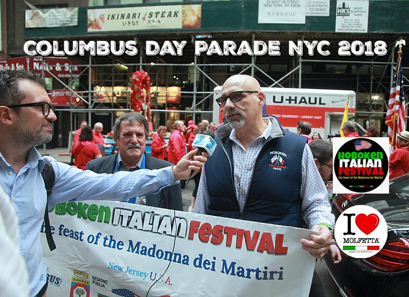 Molfetta al Columbus Day + award