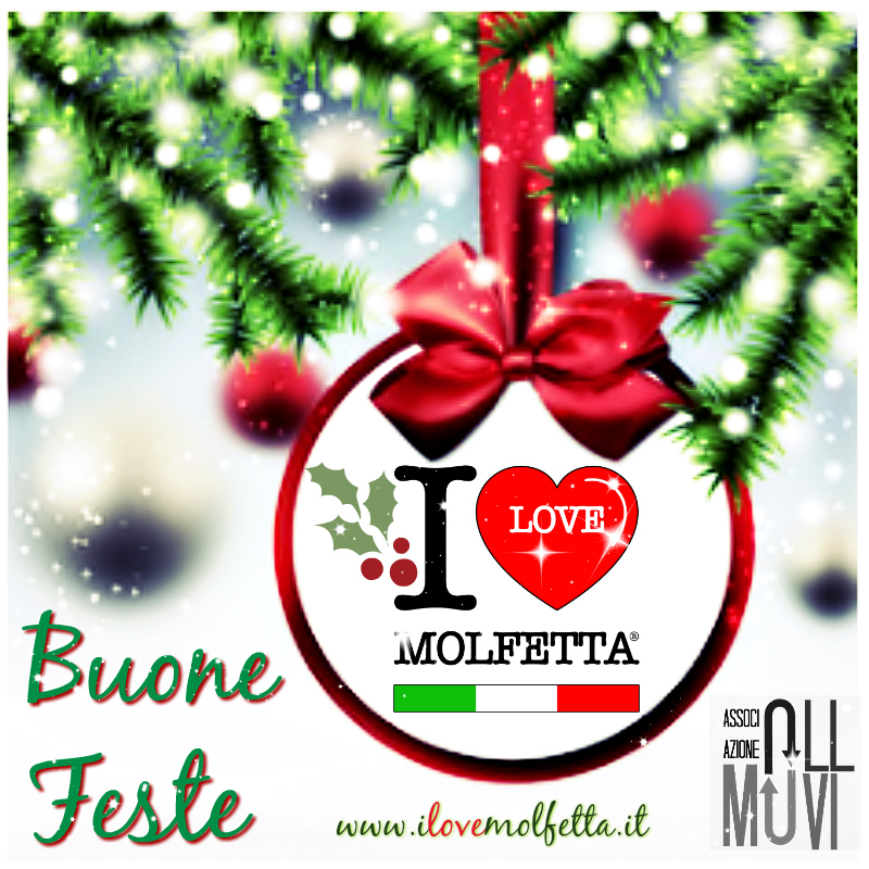 from #Molfetta Merry Christmas and Happy New Year #ILM