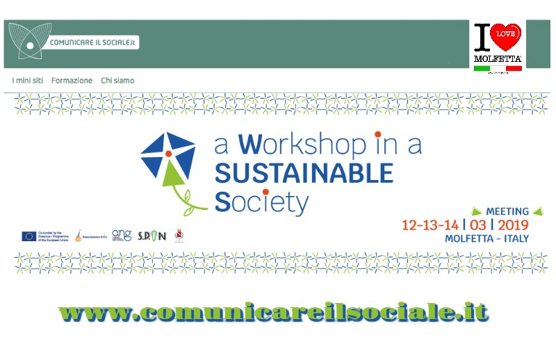 A Molfetta Workshop in a Sustainable Society