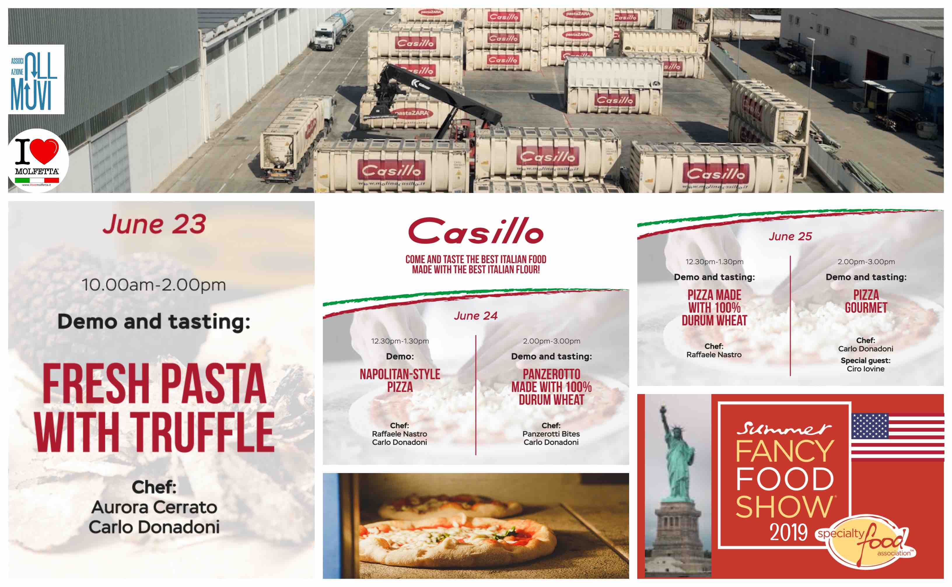 Fancy Food Show NYC 2019: Puglia, Casillo Group