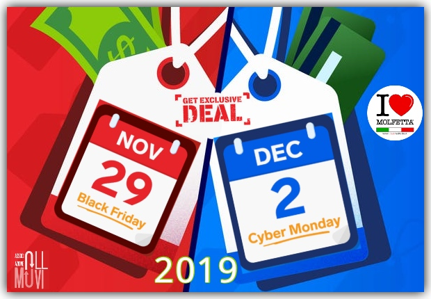 Black Friday and Cyber Monday 2019