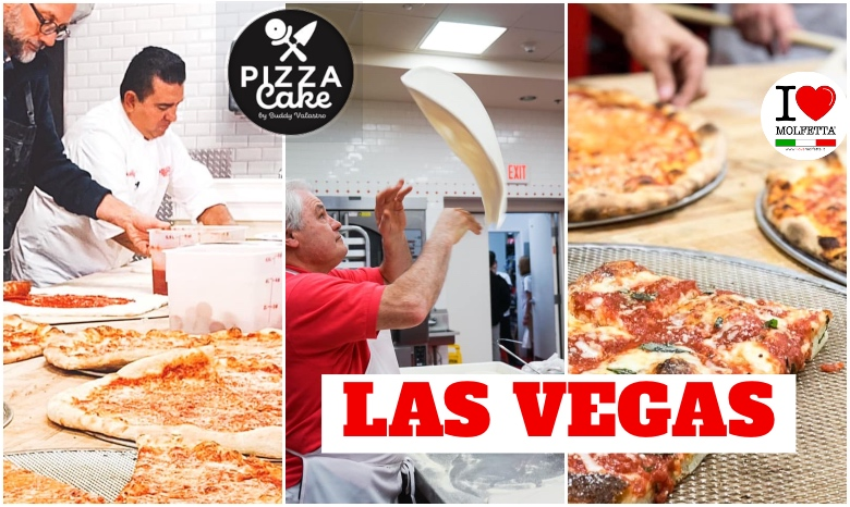 New Open: Eat Pizza Cake in Las Vegas, Molfetta is present