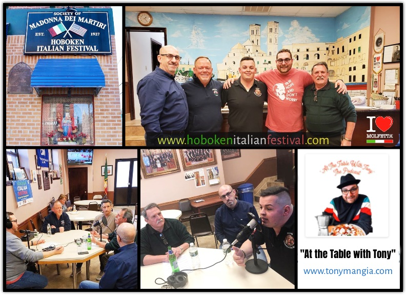 A visit to Societa' Madonna Dei Martiri in Hoboken by Tony Mangia