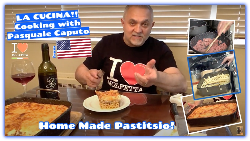 La Cucina Cooking with Pasquale: All the Greek People: love Pastitsio