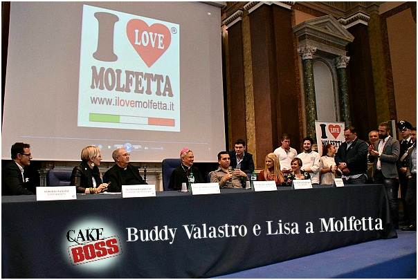 The Cake Boss, Buddy Valastro e Lisa a Molfetta