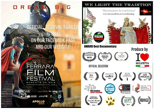Al Ferrara Film Festival 2018 International Trailer: Molfetta and Hoboken include