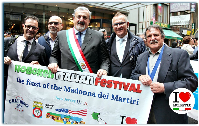 Molfetta al Columbus Day Parade NYC 2018