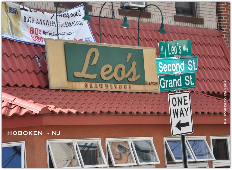 80th anniversary Leo ' s restaurant Hoboken NJ