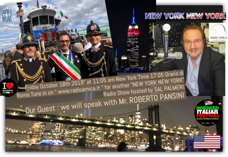 On Air RADIO Amica NY HIF2019 by Roberto Pansini